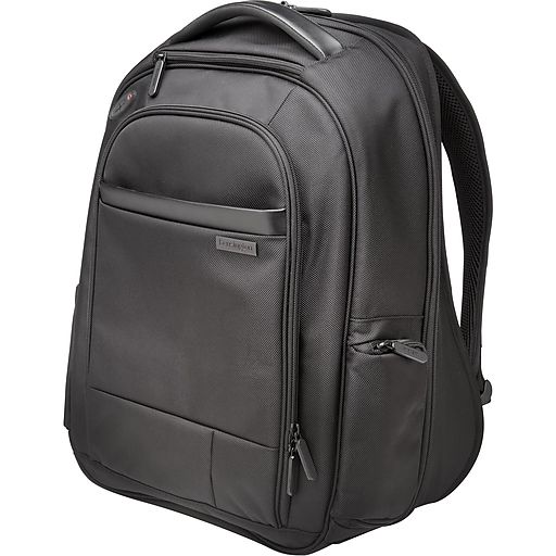 "Kensington Contour 1680D Ballistic Polyester Carrying Case Backpack, For 17"" Notebook (K60381WW)"