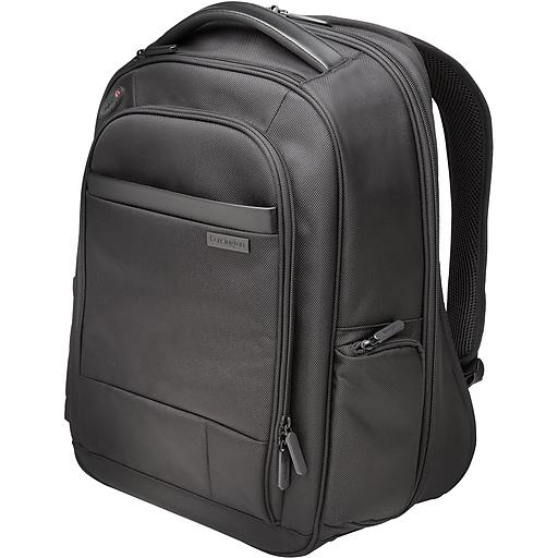 "Kensington Contour 1680D Ballistic Polyester Carrying Case Backpack, For 15.6"" Notebook, (K60382WW)"