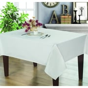 Home Secret Thick Rectangular Tablecloth, White