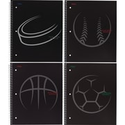 "Five Star Sport 1-Subject Notebook, 11"" x 9-1/8"", 200 Pages, Assorted (06388)"