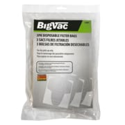 Big Vac Paper Dustbag Package, 3/Pack (55001)