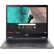 "Acer Chromebook Spin 13 NX.EFJAA.002 13.5"" Touch Screen 2-in-1, 1.6 GHz Intel Core i5-8250U, 64 GB Flash, 8 GB LPDDR3, Chrome OS"