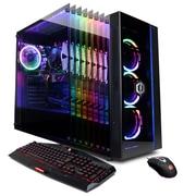 CyberPowerPC – PC de table Gamer Master GMA590, 3,2 GHz AMD Ryzen 7 2700, DD 2 To + SSD 240 Go, DDR4 8 Go, Win 10 Famille