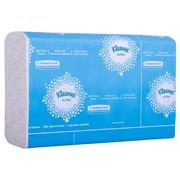 Kleenex – Essuie-mains ultra doux à plis multiples, blanc, 2 épaisseurs, 16 paq./bte