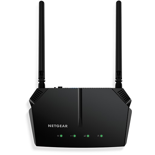 NETGEAR R6120-100NAS Dual Band Wireless and Ethernet Router, Black