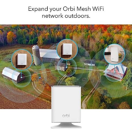 NETGEAR Add-on Orbi Outdoor Satellite Wifi Range Extender (RBS50Y-100NAS)