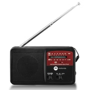 Motorola ATMOS Rechargeable AM/FM Weather Radio with Flashlight
