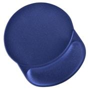 "DAC MP-123 Super-Gel ""Racetrack"" Mouse Pad with Gel Wrist Rest, 9-3/4 x 8-1/4 x 1-1/4"", Blue"