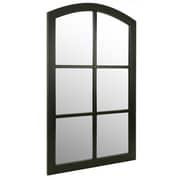 "Kiera Grace Providence Murillo Mirror - Black, 31.5"" x 20"", Decor Mirror"