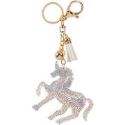 Merangue – Porte-clés à motif licorne argent brillant