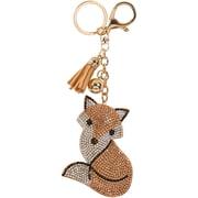 Merangue – Porte-clés à motif de renard brillant