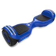Gyrocopters 8FINITI All Terrain Hoverboard - UL2272 certified with Mirror LED Wheels, Blue