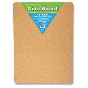 """Flipside Cork Bulletin Board, 12"""" x 18"""", 4/Pk (FLP10082)"""