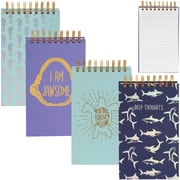 Merangue Large Spiral Notebook with Designs, English