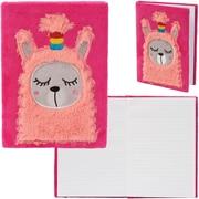 "Merangue 6"" x 8"" Fluffy Notebook, Llama"