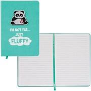 Merangue PU Notebook with Patch, Panda