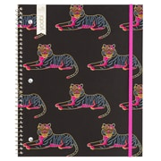Yoobi 1-Subject Spiral College Ruled Notebook, 100-Sheets, Tiger/Black/Neon
