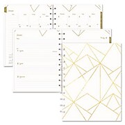 Blueline® Gold Collection Weekly/Monthly Planner (REDCF3200301)