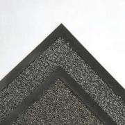 """Crown Cross-Over Indoor Wiper/Scraper Mat, 48"""" x 72"""", Brown (CS 0046BR)"""