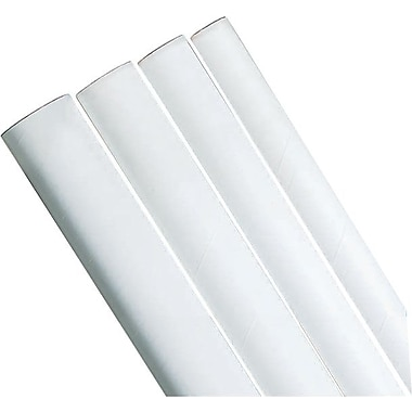 Staples® Mailing/Storage Tubes, White