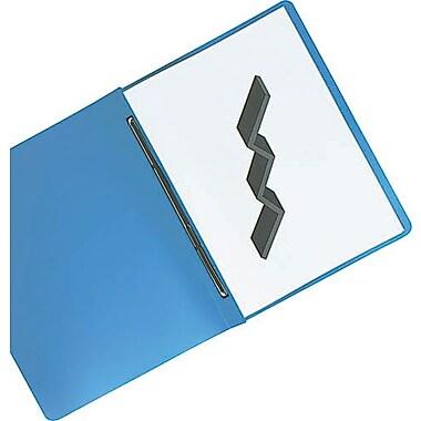Oxford® - Couverture de rapport Presslock en poly avec crampons en métal, bleue
