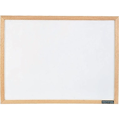 Quartet® Economy Dry-Erase Boards with Solid Oak Frame