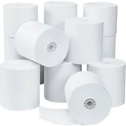 ICONEX/NCR Cash Register and Calculator Rolls, 1-Ply