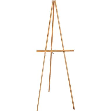 Quartet® Lightweight Portable Oak Easel