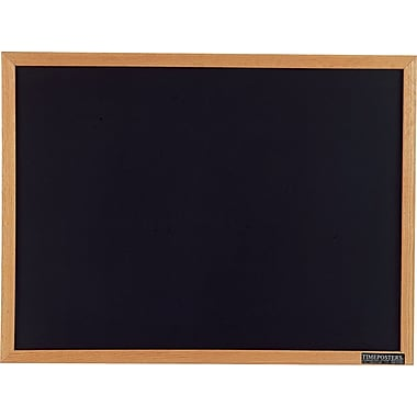 Staples® Black Chalkboards, Oak Frame