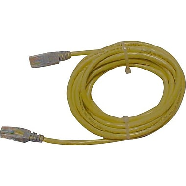 Belkin RJ45 CAT-5e Crossover Cable, 25' Yellow