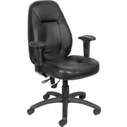 Staples® High-Back Computer Operator Chair, Black