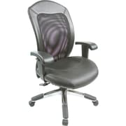 Staples® Grand Executive Mesh Chair, Black