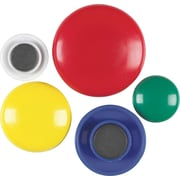 Staples® Coloured Button Magnets, 30/Pack