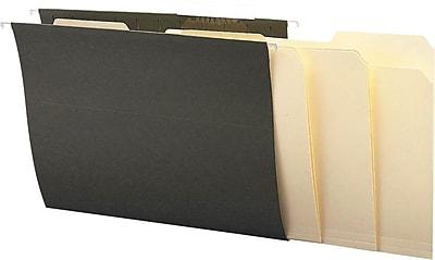Staples® Interior File Folders, Letter, Manila, 100/Box