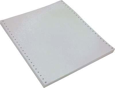Staples Multi-Part White Computer Paper, 2-Part, 9 1/2