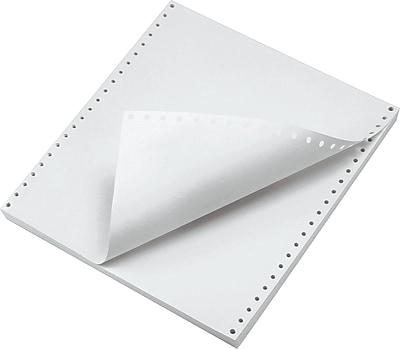 Papier multi-parties et perforé