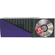Staples® CD Jewel Case, 24/Pack