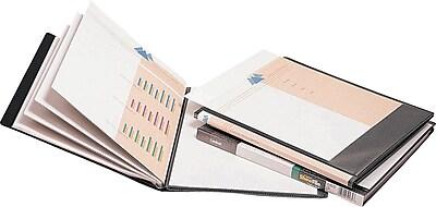 Cardinal® Custom ShowFile™ Presentation Books, 12-Pocket, Black
