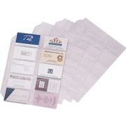 Cardinal® Business Card File Refill Pages, 10/Pack (7856000)