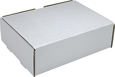 White Corrugated Mailers, 9