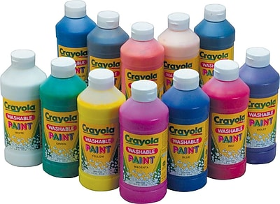 Crayola® Washable Paint, 16oz, Black