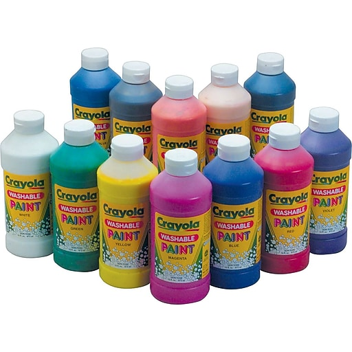 Crayola Washable Paint 16oz White Https Www Staples 3p S7 Is