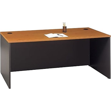 Bush® - Bureau de direction de la collection Westfield, 72 po, fini cerisier na