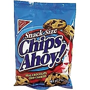 Chips Ahoy, Chocolate Chip Cookies, 2 oz. Bags 60 Bags/Box