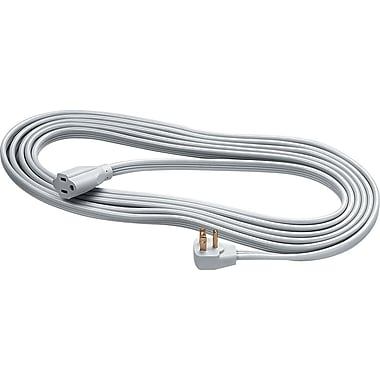 Fellowes Heavy-Duty Extension Cord, 15' - Gray