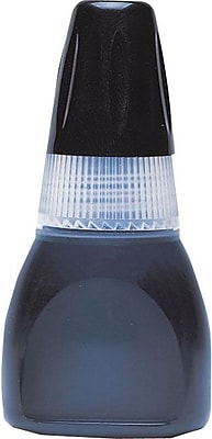 Xstamper Refill Ink, 10 ML Bottle, Black