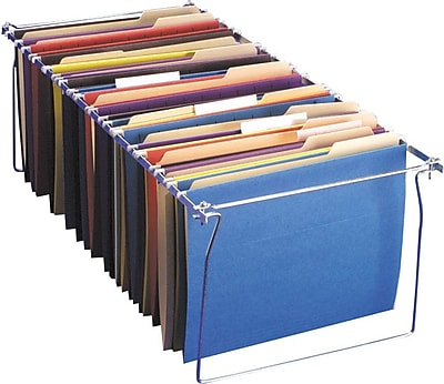OIC® Hanging File-Folder Frames, Letter, 6/Pack