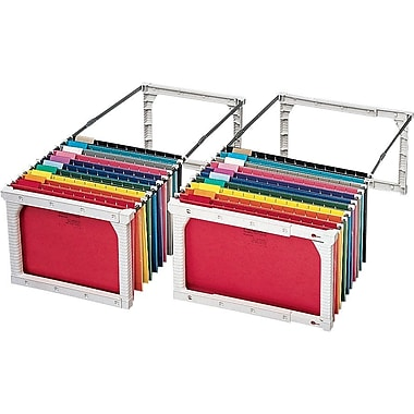 Pendaflex Letter/Legal Plastic Snap-Together Hanging Folder Frame, 4/Box (04444)