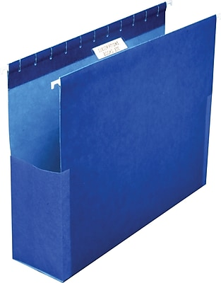 Pendaflex® Box Bottom Hanging Folders with Sides, Legal Size, 2
