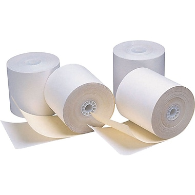 Staples 2-Part Credit Card Terminal Roll, 2 3/4